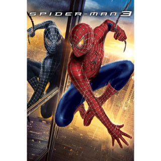 Spider-Man 3 - Vudu HD or iTunes HD via MA