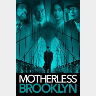 Motherless Brooklyn - Movies Anywhere SD
