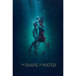 The Shape of Water - Vudu HD or iTunes HD via MA