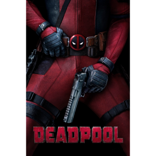 Deadpool - Vudu HD or iTunes HD via MA