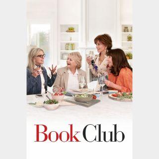 Book Club - Full Code UV HDX and iTunes 4K
