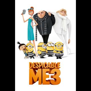 Despicable Me 3 - iTunes 4K UHD