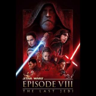 Star Wars: The Last Jedi - 4K UHD (FULL CODE)