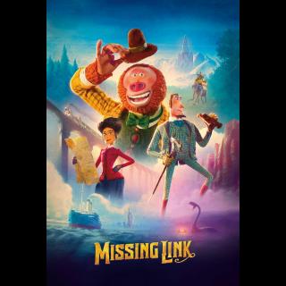 Missing Link - Vudu HD or iTunes HD via MA