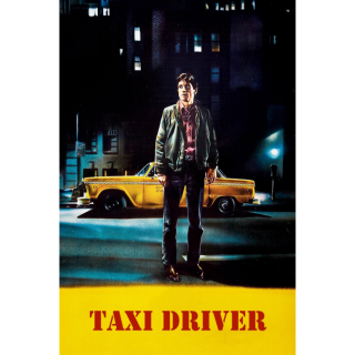 Taxi Driver - Vudu HD or iTunes HD via MA
