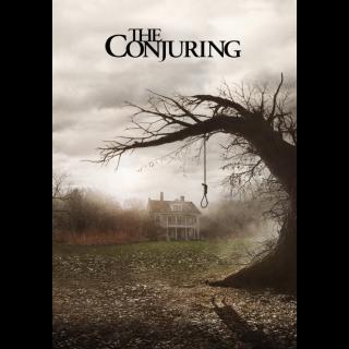 The Conjuring - Vudu HD or iTunes HD via MA