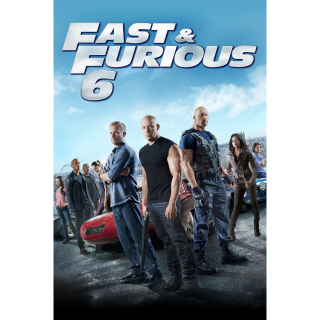 Fast & Furious 6 Extended Edition - Vudu HD or iTunes HD via MA