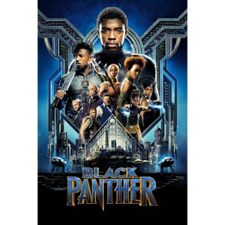 Black Panther - Vudu HD or iTunes HD via MA