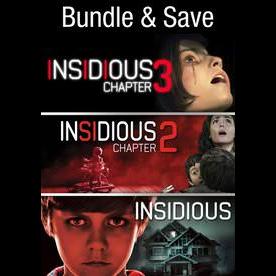 Insidious Trilogy - Vudu SD