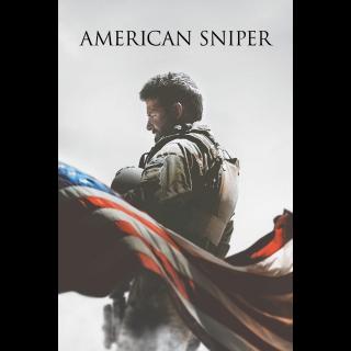 American Sniper - Vudu HD or iTunes HD via MA