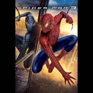 Spider-Man 3 - Vudu HD or iTunes HD via MA