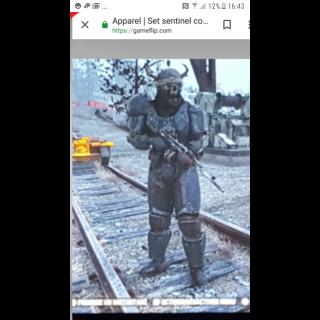 Apparel | Full set sentinel heavy