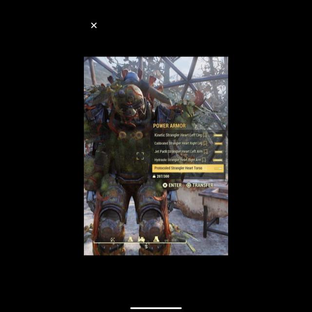Apparel | Power armor
