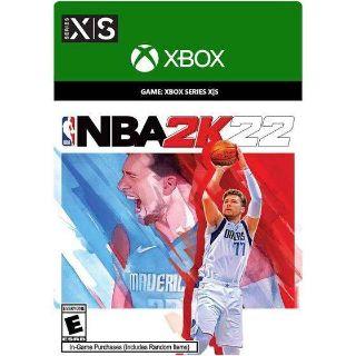 NBA 2K22 Xbox Series X/S Digital Copy