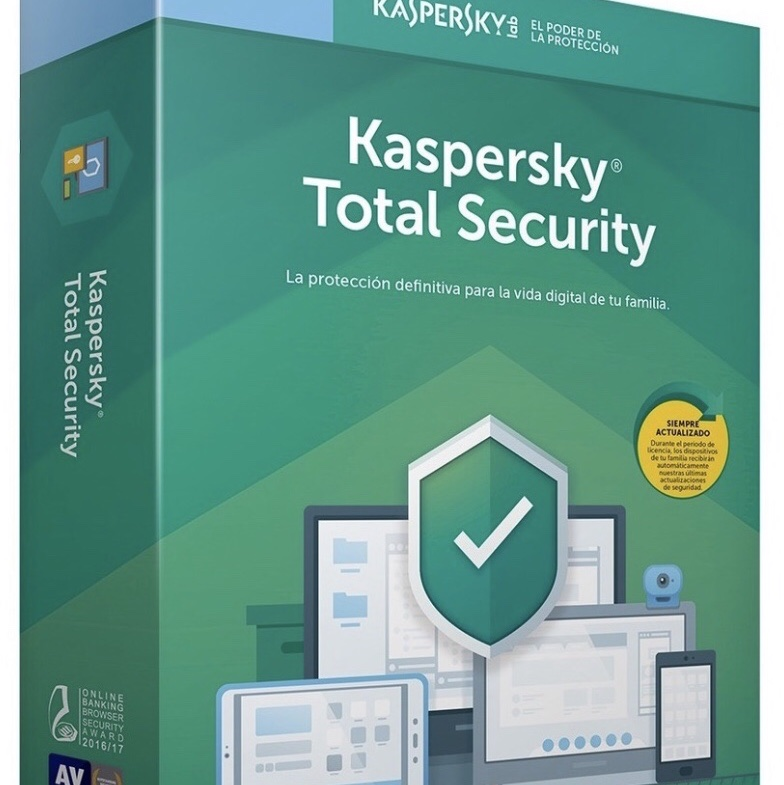 Kaspersky Total Security 2020 1 Device 1 Year Worldwide Global License Key