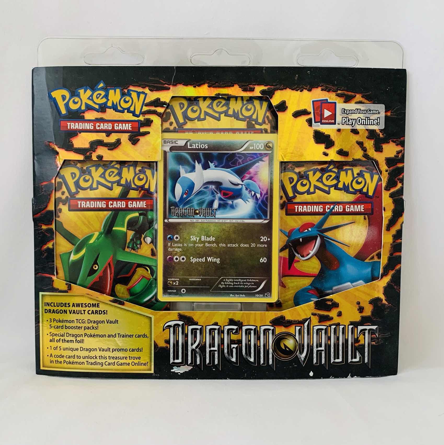 Pokémon Dragon Vault Latios Trading Card Game