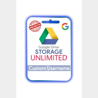 I will provide you [ GOOGLE DRIVE ] Unlimited Storage Lifetime