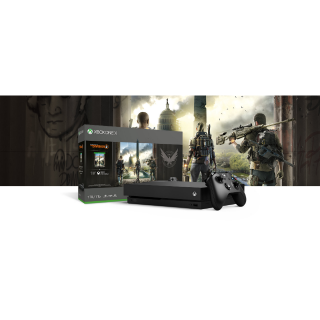 Xbox One X - 1TB - Tom Clancys The Division 2 BUNDLE (PRICE INCLUDES TAXES)