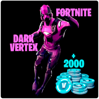 Fortnite Bundle: Dark Vertex + 2,000 V-Buck