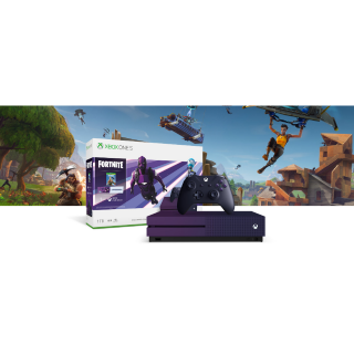 Xbox One S - Fortnite Battle Royale - Special Edition - Dark Vertex Cosmetic Bundle (1TB)
