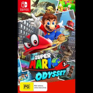 Super Mario Odyssey - Nintendo Switch (Digital)