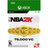 NBA 2K21 - 75000 VC - XBOX ONE - INSTANT DELIVERY