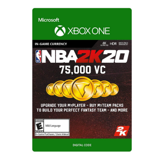NBA 2K20 - 75000 VC - XBOX ONE - INSTANT DELIVERY