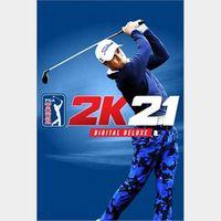 PGA TOUR 2K21 - XBOX ONE (DELUXE EDITION)