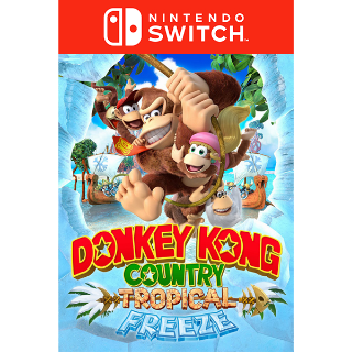 Donkey Kong Country - Tropical Freeze - Nintendo Switch - DIGITAL KEY