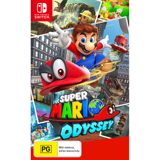 Super Mario Odyssey - Nintendo Switch (Digital)