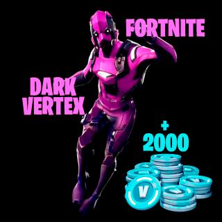 Fortnite Bundle: Dark Vertex + 2,000 V-Buck