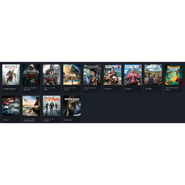 UPlay Account (12 Games) - UPlay Games - Gameflip