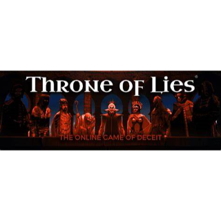 Throne of Lies the Online Game of Deciet Steam Key