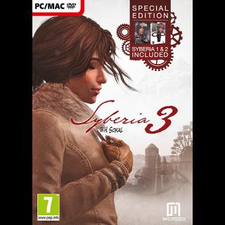 Syberia 3, 2 & 1 Trilogy Bundle