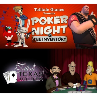 Poker Night at the Inventory & Telltale Texas Hold 'Em Steam Key