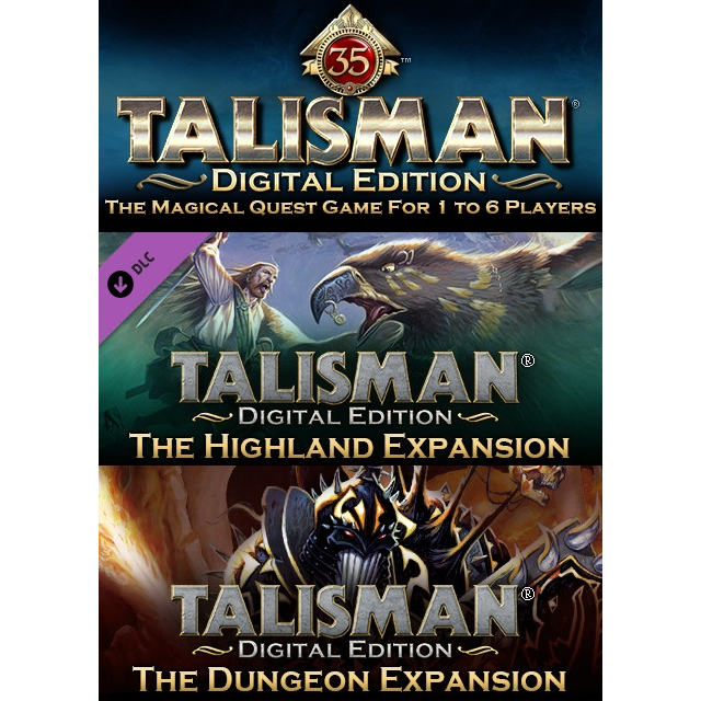 Talisman Bundle (Steam Key) : Base game + Highland + Dungeon DLCs
