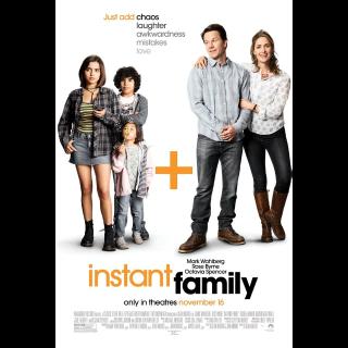 Instant Family HDX | Vudu | iTunes | Fandango