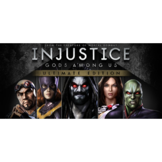 Injustice Gods Among Us Ultimate Edition Steam Key