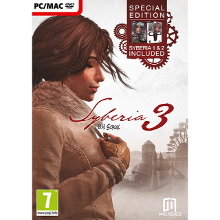 Syberia 3, 2 & 1 Trilogy Bundle