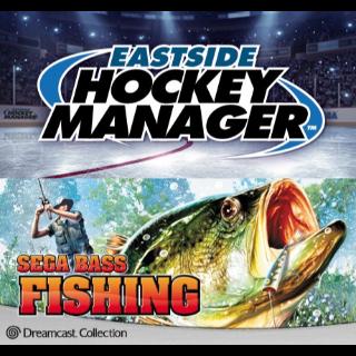 Eastside Hockey Manager & Sega Bass FIshing Bundle Steam Key