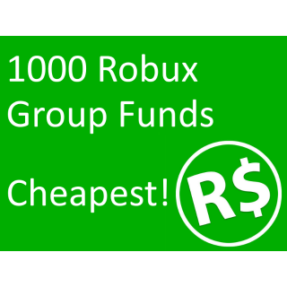 Robux 1 000x In Game Items Gameflip