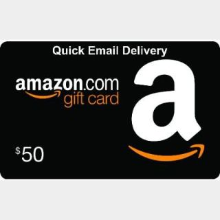 $50.00 Amazon (US Only) - Great Deal!