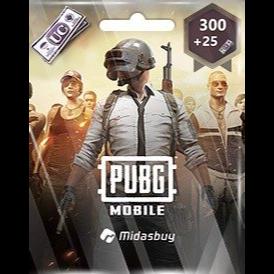 300+25 UC PUBG Mobile!