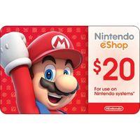 $20 Nintendo eShop Gift Card (USA)