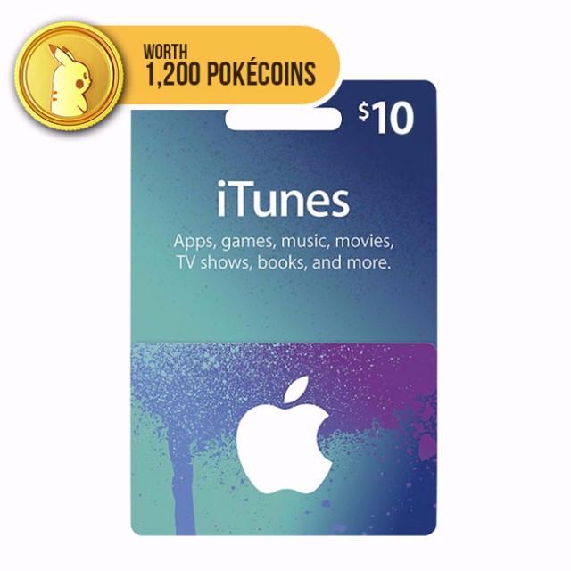 ITunes $10 Gift Card (USA)