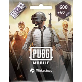 600+60 UC PUBG Mobile!