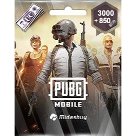 3000+850 UC PUBG Mobile!