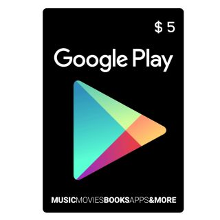 $5 Google Play Gift Card (USA)