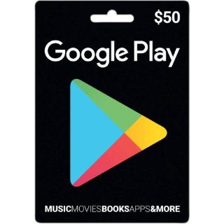 $50 Google Play Gift Card (USA) - Great discount!