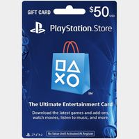 $50 Playstation Store Gift Card (USA) - Great discount!